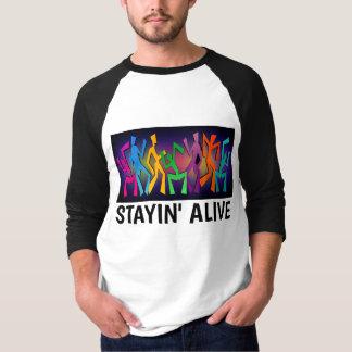 Permanecer las camisetas vivas, camisetas