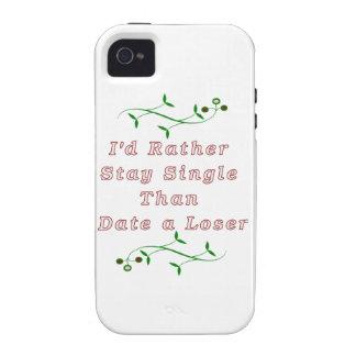 Permanecería bastante solo que un perdedor Case-Mate iPhone 4 carcasas