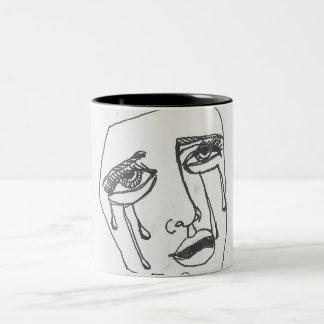 Permanezca para arriba todas las tazas de café de