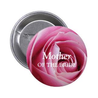 Perno color de rosa de la insignia de la etiqueta  chapa redonda 5 cm