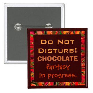 perno de la fantasía del chocolate pins