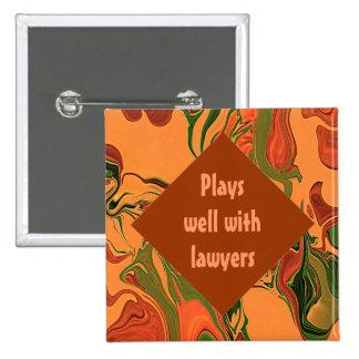 perno del ayudante de los abogados pins