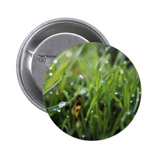 Perno del botón de la hierba del descenso de rocío pin