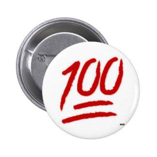 perno del emoji 100 chapa redonda 5 cm