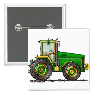 Pernos de tractor grandes verdes chapa cuadrada