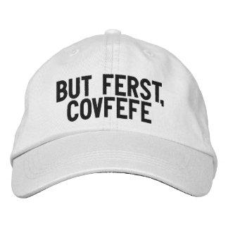 PERO FERST, gorra blanco y negro divertido de