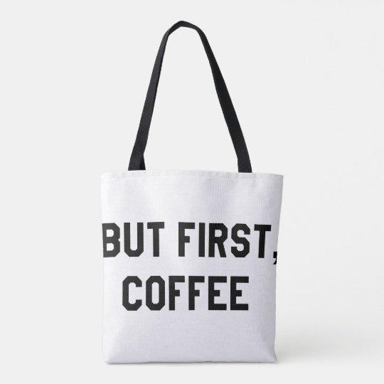 💖 pero primero, la bolsa de asas del café