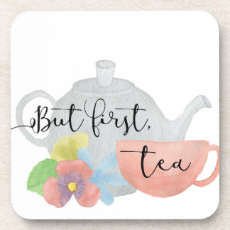 Pero primero, té apoyavasos