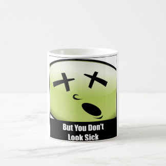 Pero usted no mira la taza de café enferma