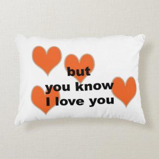 pero usted sabe te amo (la almohada lumbar)