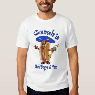 Perrito caliente del Mariachi en tan Camiseta