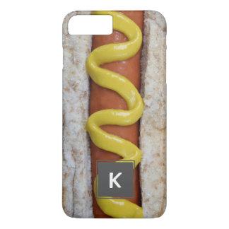 perrito caliente delicioso con la fotografía de la funda para iPhone 8 plus/7 plus