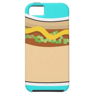 Perrito caliente y condimento funda para iPhone SE/5/5s