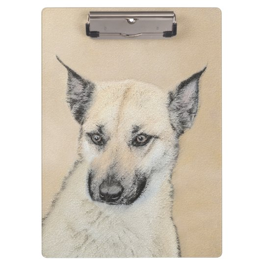 Perrito de Chinook (oídos acentuados) Carpeta De Pinza
