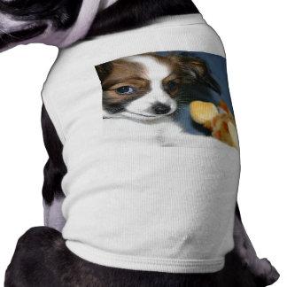 Perrito de Lola Papillon Camiseta Sin Mangas Para Perro