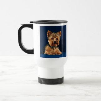 Perrito de Yorkshire Terrier Taza De Viaje
