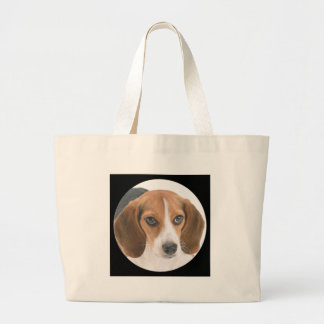 Perrito del beagle bolsa de mano