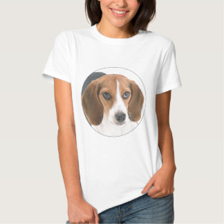 """Perrito del beagle "" Camiseta"