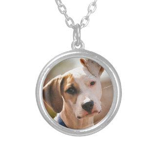 Perrito del beagle colgante redondo