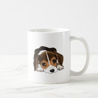 Perrito del beagle taza