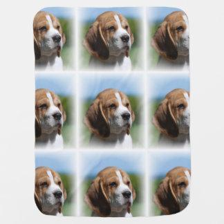 Perrito del beagle mantas de bebé