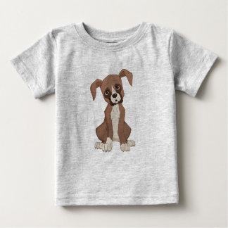 Perrito del boxeador camiseta de bebé