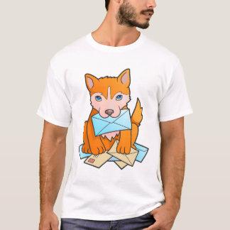 perrito del cartero camiseta