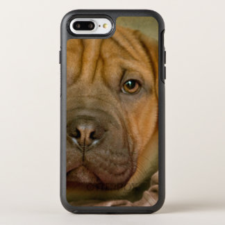 Perrito del Sharpei-Beagle Funda OtterBox Symmetry Para iPhone 7 Plus