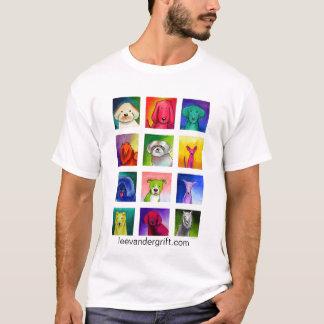 Perrito docena, leevandergrift.com camiseta