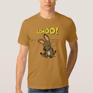 Perrito espigado grande camiseta