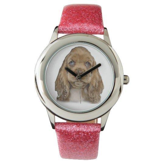 perrito lindo reloj
