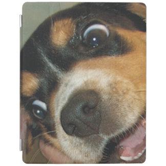 Perrito loco del beagle cover de iPad