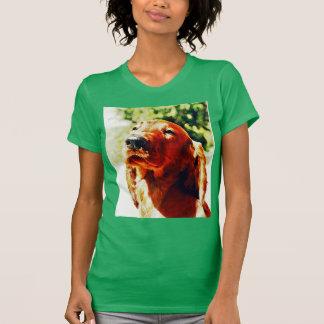 Perrito precioso de Irish Setter Camiseta