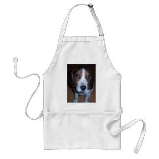 Perrito tonto del beagle de Randy del perro Delantal