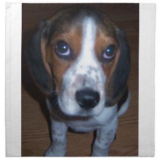 Perrito tonto del beagle de Randy del perro Servilleta De Papel
