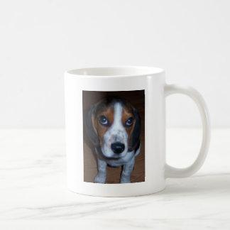 Perrito tonto del beagle de Randy del perro Taza De Café