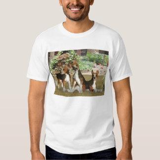 Perritos del beagle camisas