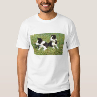 Perritos del collie de Eli y de Ellie~Border Camiseta