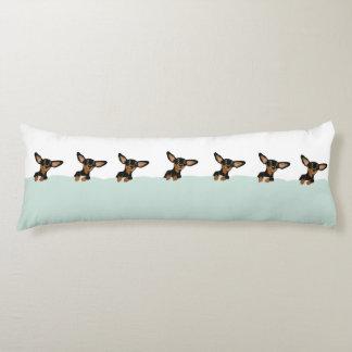 Perritos Supercute del dachshund en diseño de la