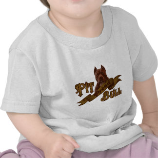 Perro americano de Terrier de pitbull Camiseta