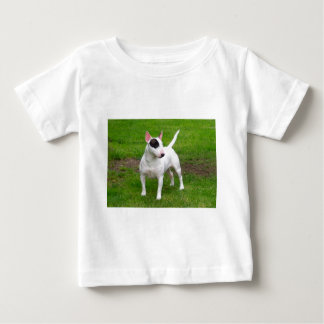 Perro americano de Terrier de pitbull Camiseta De Bebé
