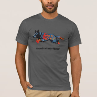 Perro australiano del ganado - inseguro a camiseta