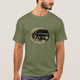 Perro australiano del ganado - la mente mueve la camiseta