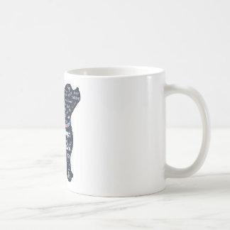 Perro azul taza de café