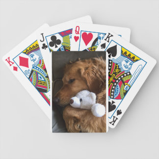 perro baraja de cartas bicycle