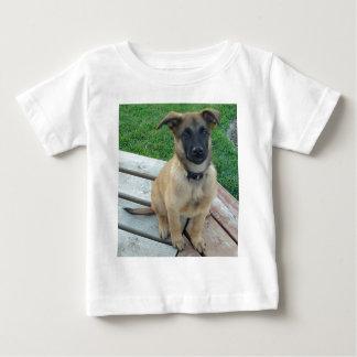 Perro belga de Malinois del pastor Camiseta De Bebé