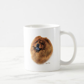 Perro chino de perro chino taza de café
