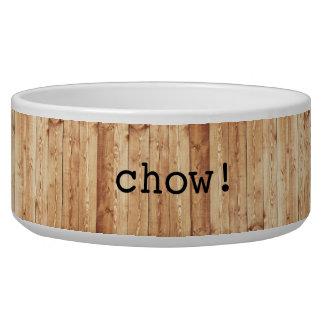 """""""Perro chino grande!"""" cuenco de cerámica del perro"""