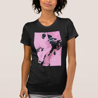 Perro con la pistola camiseta