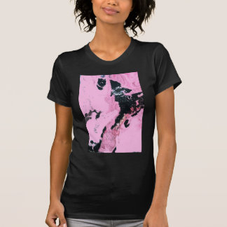 Perro con la pistola camisetas